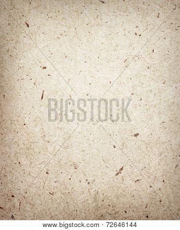 Pressed brown chipboard texture. Wooden background.