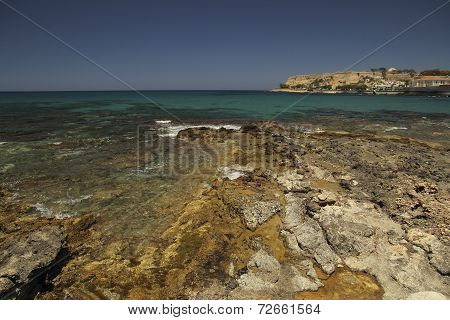 Coast In Rethymno