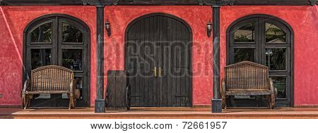 Colorful Mexican Doorway