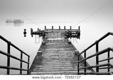 Tarbet Pier Loch Lomond