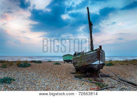 Wooden Fishing Boats