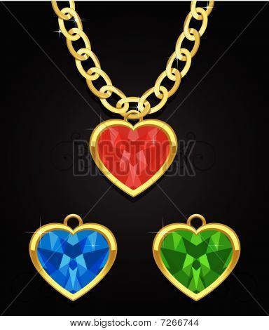heart diamond jewel
