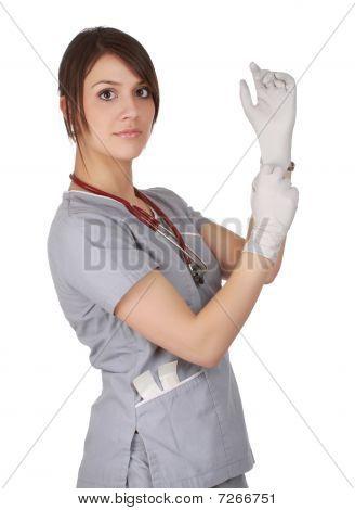 Caucasian Nurse