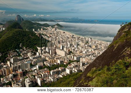 Aerial View of Copacabana
