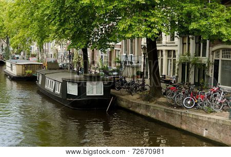 Bicycles And Boathouses