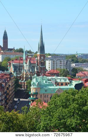 View Across Gothenburg