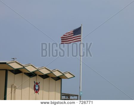 Lifeguard Station Flag