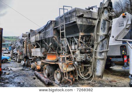 Vehicle Arson Attack