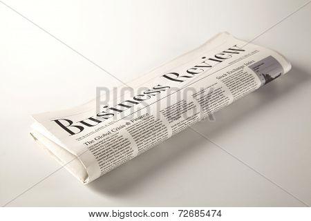 Newspaper On Solid Ground