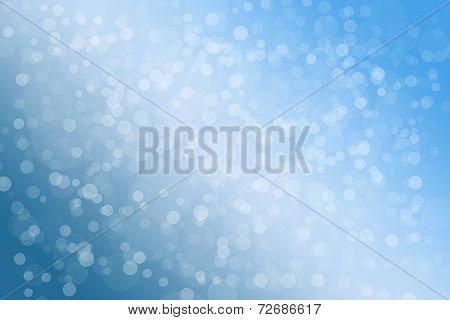 blue and bokeh background