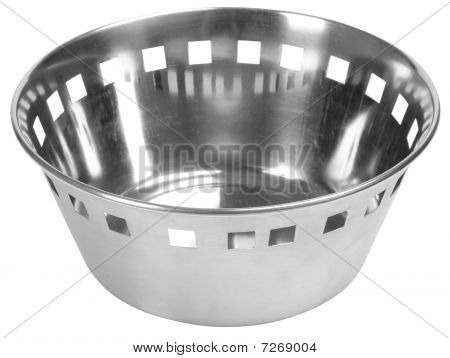 Food drainer. Isolated