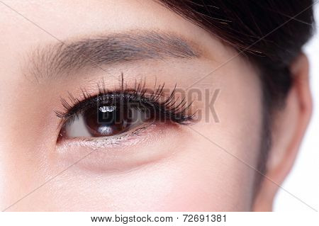 Beautiful Woman Eye