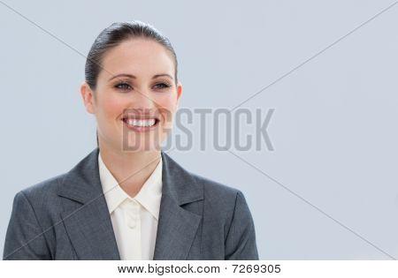 Portrait Of A Pretty Businesswoman