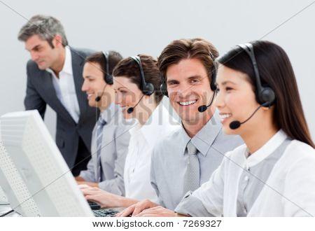 Self-assured Customer Service Representatives