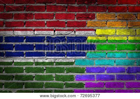 Dark Brick Wall - Lgbt Rights - Gambia