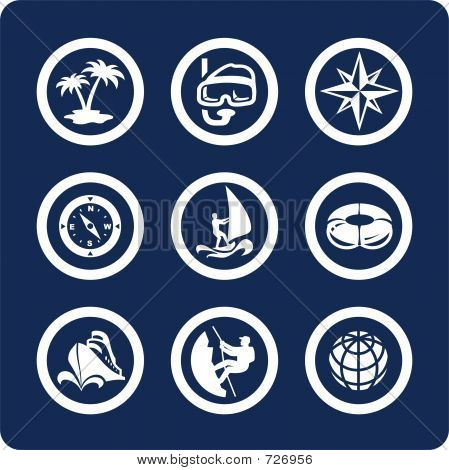 Travel And Vacation Icons (set 13, Part 2)