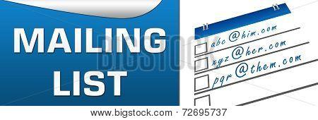 Mailing List Horizontal