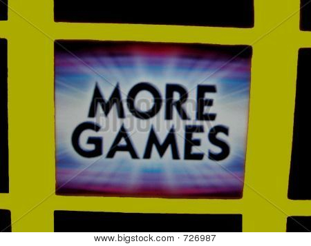 More Games Screen,Sign For Addiction For Gambling