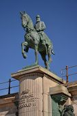 stock photo of reign  - Leopold II statue  - JPG