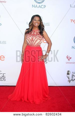 LOS ANGELES - FEB 6:  Cheryl Jackson at the 46th NAACP Image Awards Arrivals at a Pasadena Convention Center on February 6, 2015 in Pasadena, CA