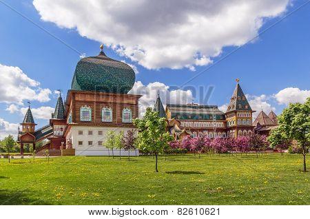 Wooden Palace In Kolomenskoye, Moscow