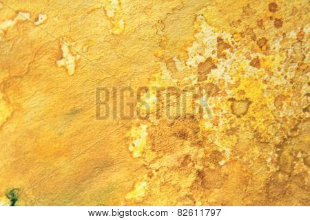 Yellow Watercolor Textures 8