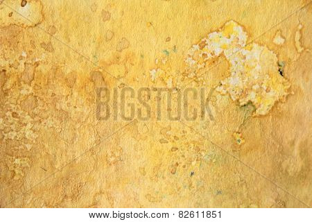 Yellow Watercolor Textures 5