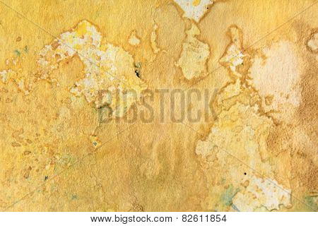 Yellow Watercolor Textures 3