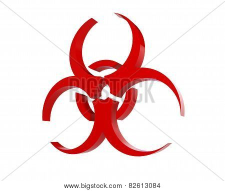 Virus Logo On A White Background