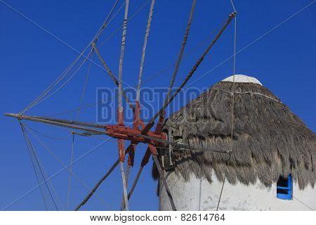 The Famous Mykonos Windmills