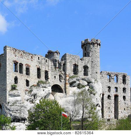Ogrodzieniec. Poland.