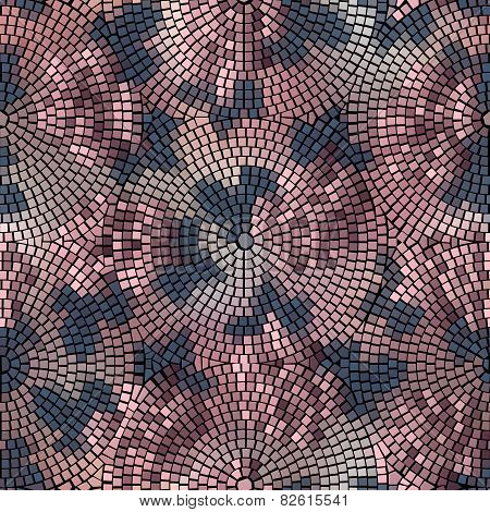 roses mosaic.