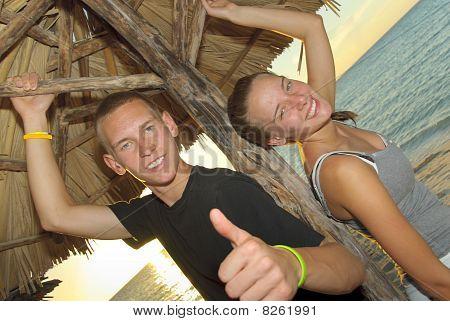 Siblings in Cuba