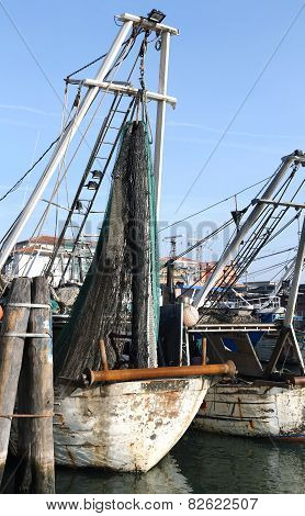 Fishing Vessels In Sea Haven Moored