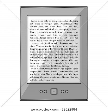 Realistic Electronic Book