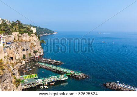 Small Dock In Sorrento