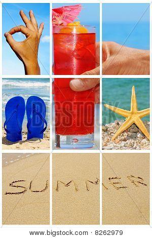 Strand-collage
