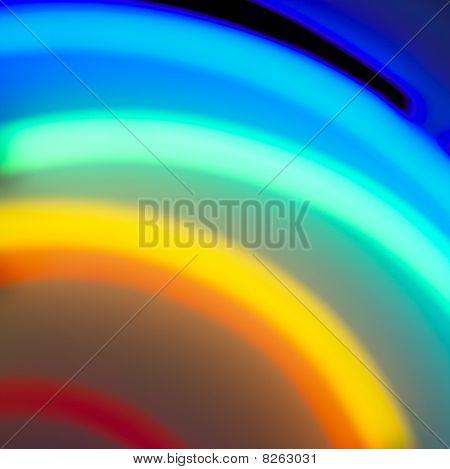 Blurred Neon Background