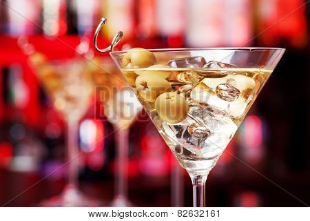 Three Martinis