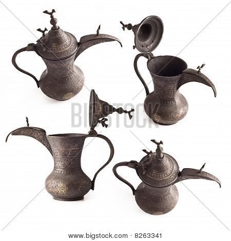Various Coffe Pots