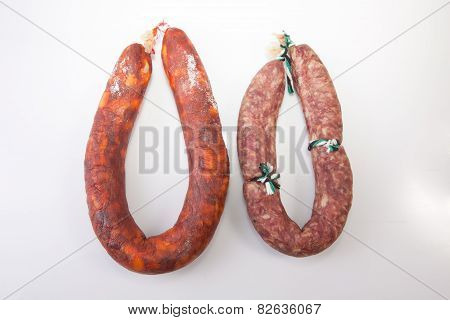 Red Chorizo And Salchichon