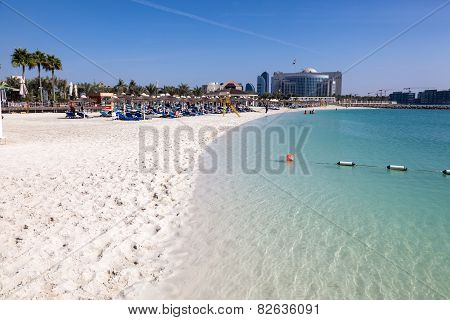 Beach In Abu Dhabi