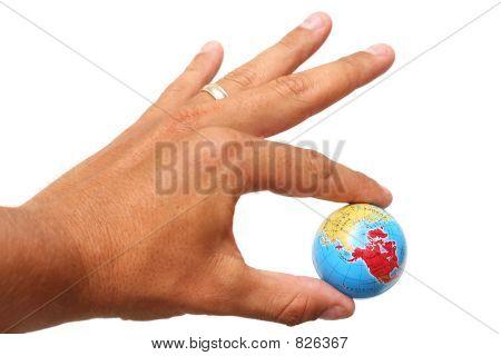 Mão e Globo