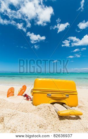 Trolley In The Sand
