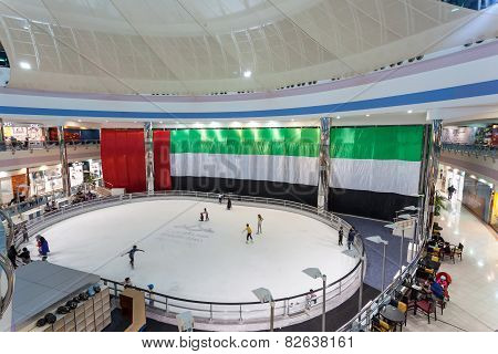 Ice Rink Inside Of Marina Mall