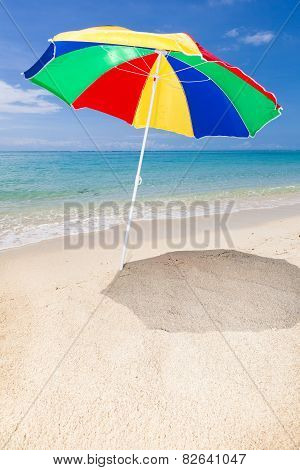 Sunshade At The Beach