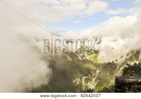 View from the top of Huayna Picchu (Machu Picchu, Peru)