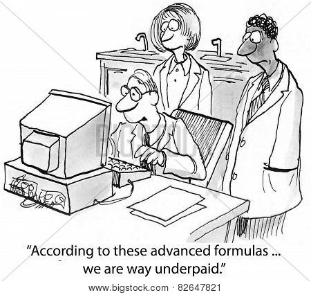 Underpaid Scientists