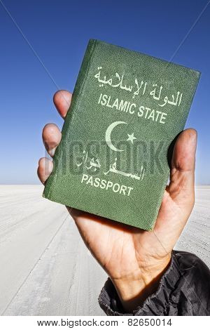 Islamic State Passport Vertical
