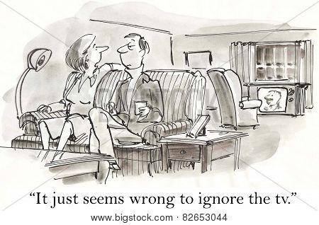 Ignore TV